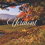 """Vermont 2022 Calendar: From January 2022 to December 2022 - Square Mini Calendar 7x7"""" - Small Gorgeous Non-Glossy Paper"""
