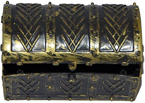 AEC - AC2116 - Mini coffre de pirate 8x4.5x5 cm cm decore