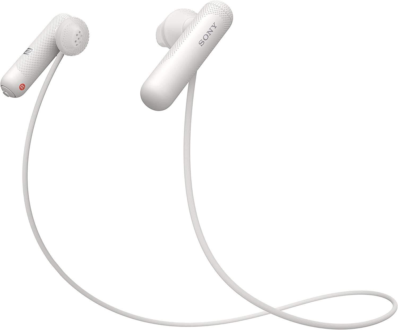 Amazon Com Sony Wi Sp500 Wireless In Ear Sports Headphones White Wisp500 W Electronics