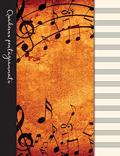 Quaderno pentagrammato: Quaderno di musica - Copertina musica