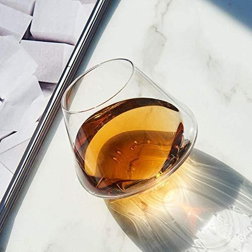Decantador de vino de vino de cráneo y gafas Set Vino anter moda creativo sin plomo cristal vidrio vaso forma parte rápido antillo rojo vino vidrio whisky vidrio shake taza vino abre el separador de b