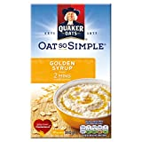 Quaker Oat So Simple Golden Syrup 10 x 36g -