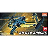 Academy airplane model US-12488 1 / 72AH-64 Apache helicopter gunships by Academy Models
