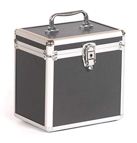 Studio XS Aluminium DJ MUSIK KOPFHÖRER MIKROFON CD Flight Case Box schwarz