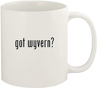 got wyvern? - 11oz Ceramic White Coffee Mug Cup, White