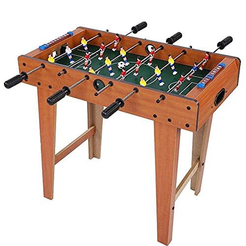 4 in 1 Multi Spieltisch Tischkicker Tischfussball Kicker Hockey Billard Tischtennis, MDF, 69* 65*37cm Multigame Spieltisch Multifunktion für Kinder & Erwachsene Multitisch Multifunktionsspieltisch