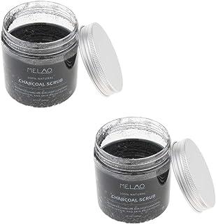 D DOLITY Pack of 2, Organic Exfoliating Body Scrub, Dead Sea Salt Scrub, Hydrating Moisturizing Scrub, Skin Smoothing, For Deep Cleansing & Exfoliation
