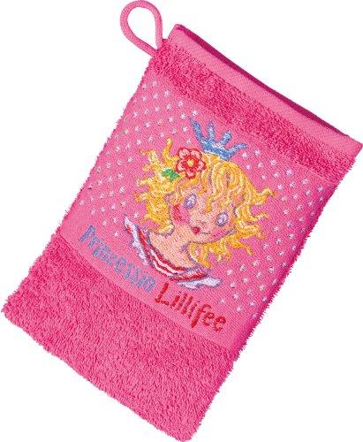 Prinzessin Lillifee 1480310600 Dyckhoff Waschhandschuh 17 x 23 cm, 600, rosa