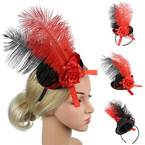 Diadema para mujer con diseño de flor de seda, para el pelo, para el pelo, para mujer, con diseño de flores, para el pelo