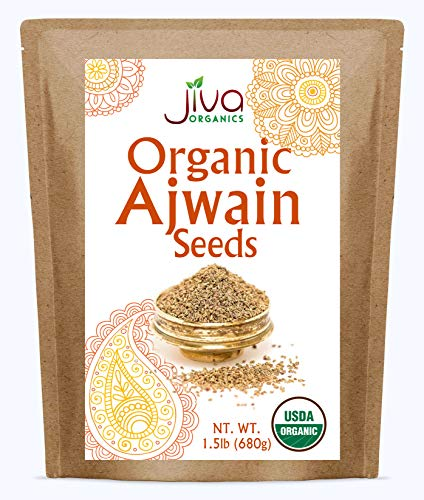 Jiva Organic Ajwain Seeds 1.5 LB Ba…