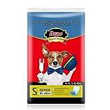 Dono Pannolini per Cani Maschio - Pannolini per Animali Domestici USA e Getta Jeans avvolt...