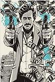 sakkdaull ablo Escobar Leyenda del Personaje Retro ViLovers y Amigos comparten la diversión de Pintar 16x20 pulgadasDIY Pintar por números
