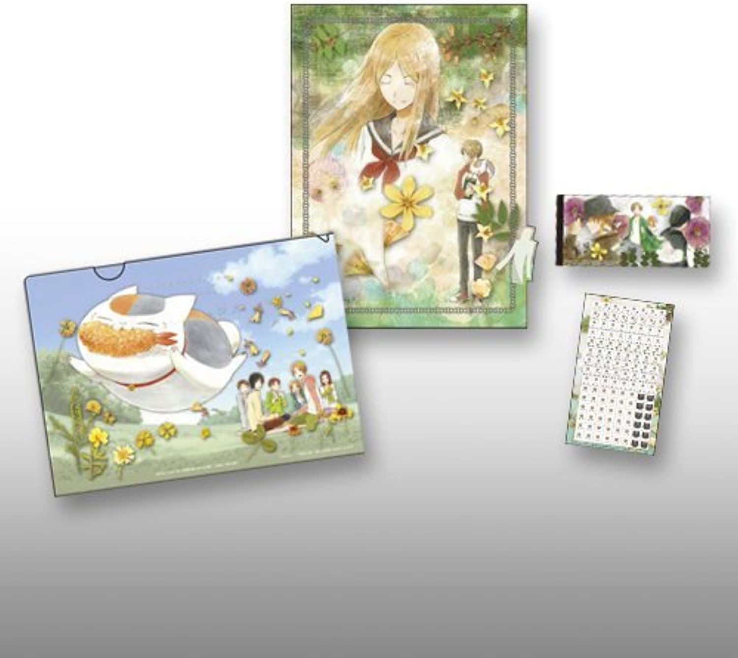 Reiko Natsume single item set stationery set award  F says Natsume's Book of Friends Tribute Gallery  Pressed most lottery (japan import)