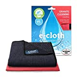 E-Cloth Cloths, 80% polyester, 20% polyamide, Black & Red, 32cm x 32cm
