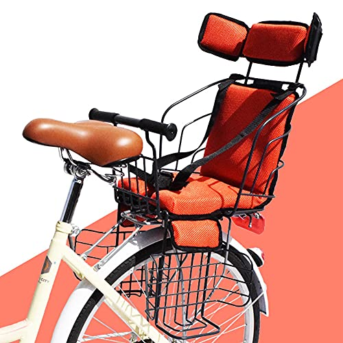 GJXJY Asiento Infantil para Bicicleta de Montaje Trasero, Sólido y Fiable Sillas de Bicicletas Sillín Infantil para Niños de 2 a 5 Años