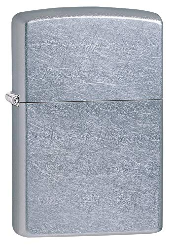 Zippo 207 Classic Street Chrome Pocket Lighter