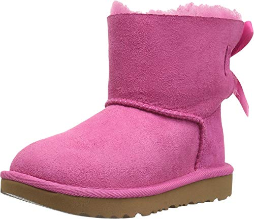 UGG unisex child Butte Ii Cwr Ugg Snow Boot, Pink Crystal, 1 Little Kid US