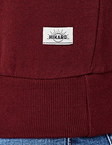 Amazon Brand – Hikaro Men's Chest Print Crew Neck Sweatshirt
