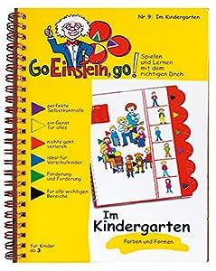 Übungsbuch 9 DIN A 5 'Im Kindergarten' - Hörübungen als Grundlage für Lesen und Schreiben Die gelben Hefte schaffen Grundlagen für Wahrnehmung und Konzentration. Verbunden mit einer einfachen Selbstkontrolle, schafft Sicherheit und Selbstvertrauen. J...