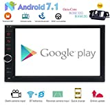 EINCAR 2 DIN Android 7.1 Car GPS Navigation Stereo with Bluetooth 2G/32G 8-Core