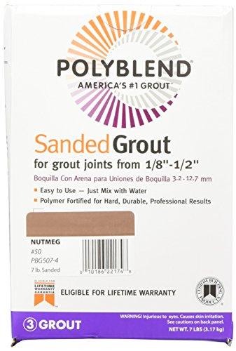 Custom BLDG Products PBG507-4 Tile Grout, Nutmeg Brown