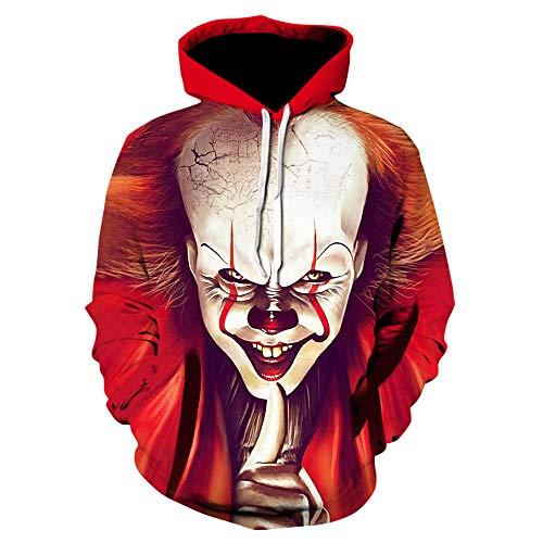 Hip Hop Kleidung Schwarze Hoodies Männer 2020 Langarm Trainingsanzug Lustige Joker Streetwear Sweatshirts Winterjacke-We-1127_Size_XXL