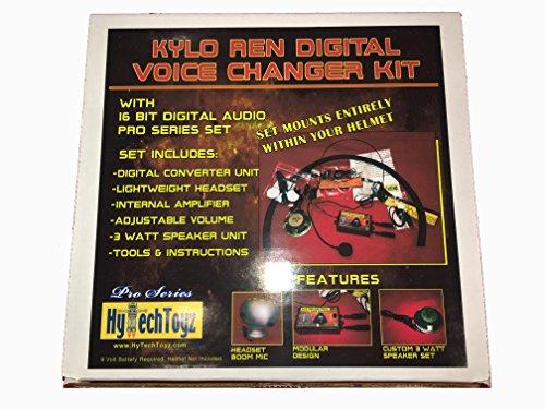 HYTECHTOYZ PRO Series Helmet Voice Changer System - Sound Like Kylo...