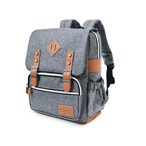 14 Peaks Gray Classic Kids and Toddler Backpack, 12.5'