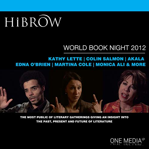 HiBrow: World Book Night 2012 audiobook cover art