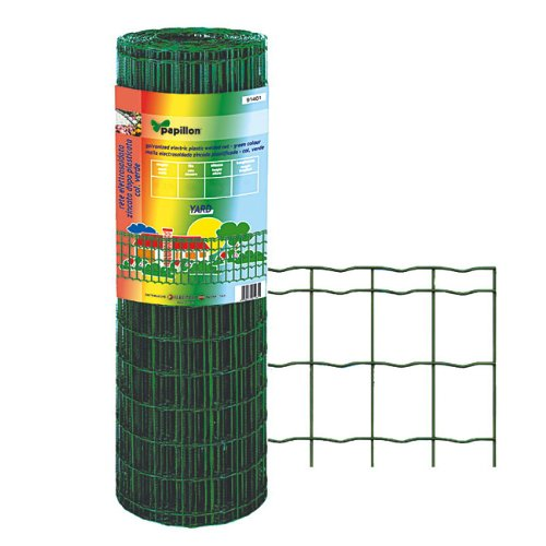 Grillage galvanisé électro-soudé pour mT 1,50 x 25 avec revêtement PVC