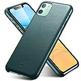 ESR Premium Echtleder Hülle kompatibel mit iPhone 11