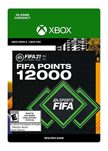 FIFA 21 Ultimate Team 12000 Points - Xbox Series X [Digital Code]