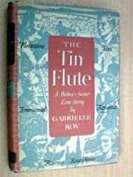 book cover for The Tin Flute by Gabrielle Roy; books set in Canada