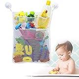 YiMing - Organizador de juguetes para baño con red de malla, para...