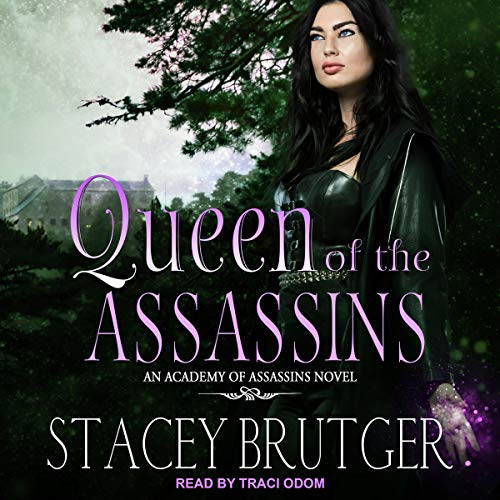 Queen of the Assassins audiobook cover art
