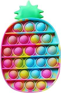 APPSOLS Pop it Fidget Toys, fidjetoys Toy Anti Stress, popit Jeux Pas Cher, Multicolore popite fijets Toys entistesses Obj...