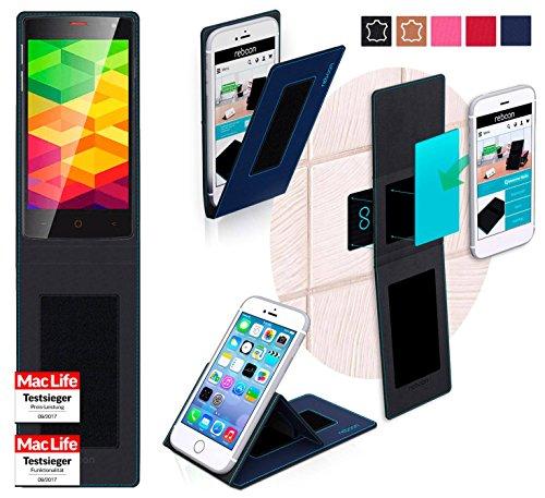 reboon Hülle für Ulefone BE X Tasche Cover Case Bumper   Blau   Testsieger