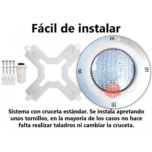 Warmpool Foco extraplano para Piscina LED Blanco (AC)