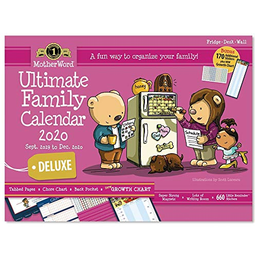 2020 MotherWord Wall Calendar - Ultimate Family Edition,...