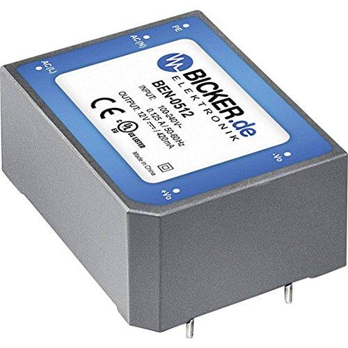 Bicker Elektronik AC/DC-Printnetzteil BEN-1005 5 V/DC 2 A 10 W