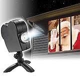 Proyector Holográfico De Halloween Luces Led De Proyector De Navidad 12 Movie Projector Kit Star Shower Window...