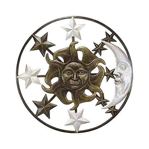 Sun Moon Star, Manualidades De Pared, Amuletos De Metal Tibetano, Accesorios, Materiales...
