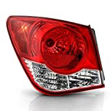 ACANII - For 2011-2015 Chevy Cruze Factory Style Tail Light Brake Lamp Assembly Replacement 11-15 Outer Left Driver Side