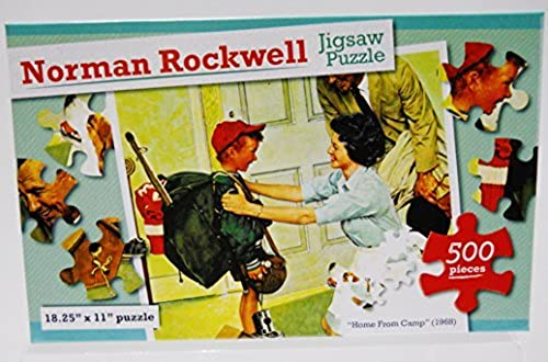 aquí tiene la última Norman Rockwell 500 500 500 Piece Puzzle - Home From Camp (1968) by Norman Rockwell  venta directa de fábrica