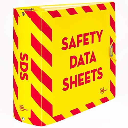 "Avery UltraDuty SDS Binder Kit, Durable 3"" Poly Binder, A-Z Dividers, Sheet Protectors (77714)"