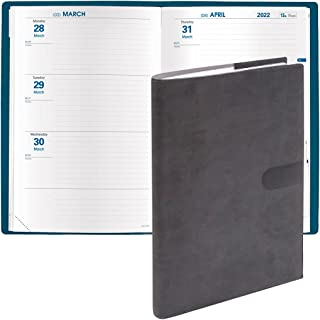 """$24 » 2022 Calendar Year - Weekly & Monthly Planner Organizer by Quo Vadis - """"Hebdo"""" - 12 Months, January to December - Medium (..."""
