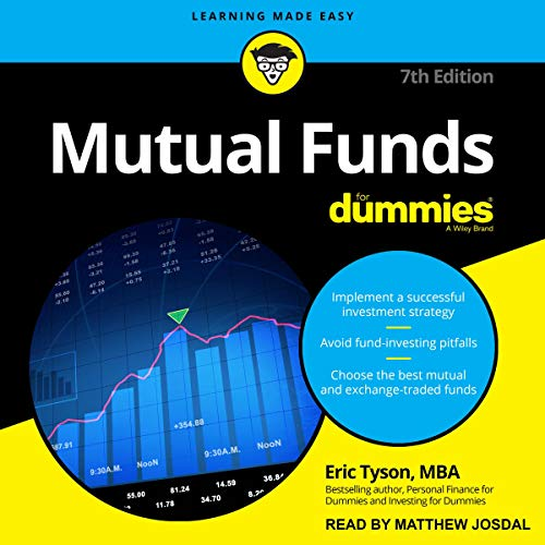 Mutual Funds for Dummies audiobook cover art