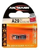 Ansmann 1510-0008 A29 - Pila alcalina (LR29, MN29, L822, 9V)