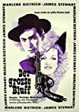 Der Grosse Bluff (1939), Marlene Dietrich   Filmplakat,