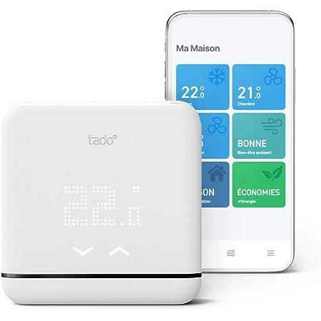 tado° Contrôle Connecté et Intelligent de la Climatisation et pompes à chaleur V3+, Installez par vous-même, Designed in Germany